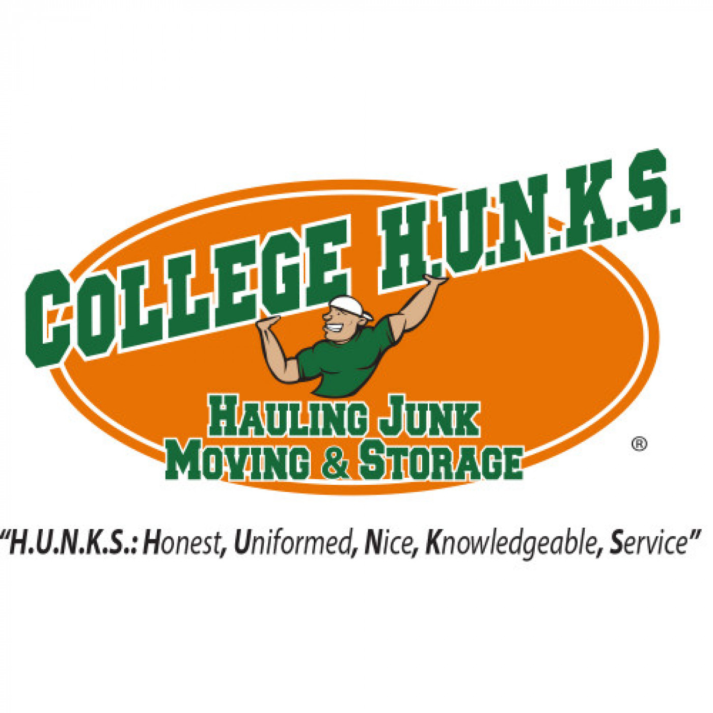 Welcome College Hunks Hauling Junk & Moving