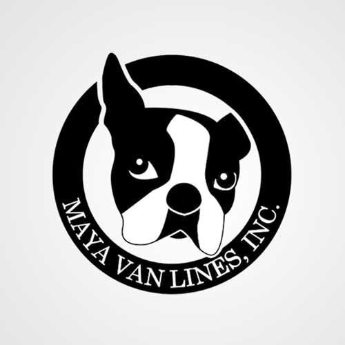 Maya Van Lines logo