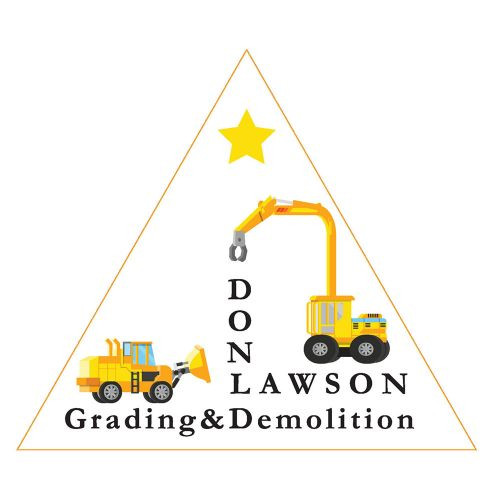 Don Lawson Grading & Demolition logo