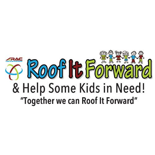 ARAC Roof It Forward logo