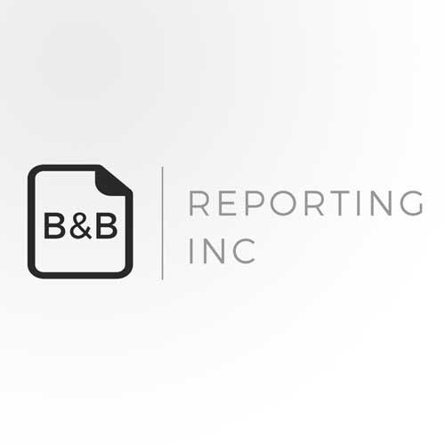 B&B Reporting, Inc. logo