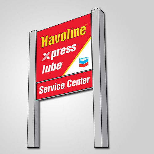 Havoline xpress lube Atlanta logo